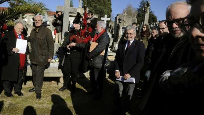 Homenaje a Blanco Amor en Ourense