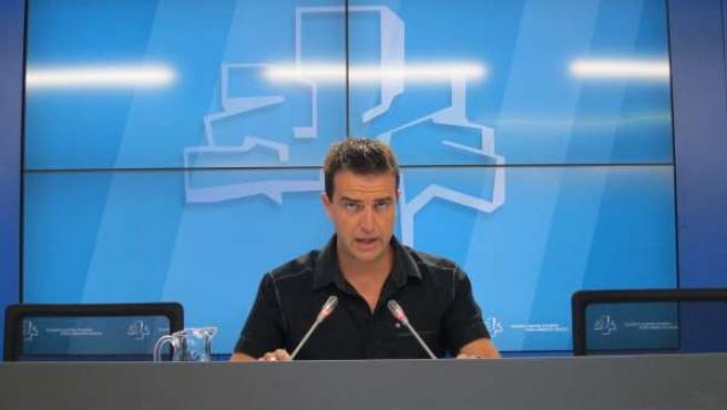 El parlamentario de UPyD, Gorka Maneiro