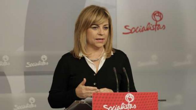 Elena Valenciano en Ferraz