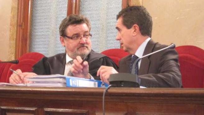El expresidente del Govern Jaume Matas en la Audiencia Provincial de Baleares