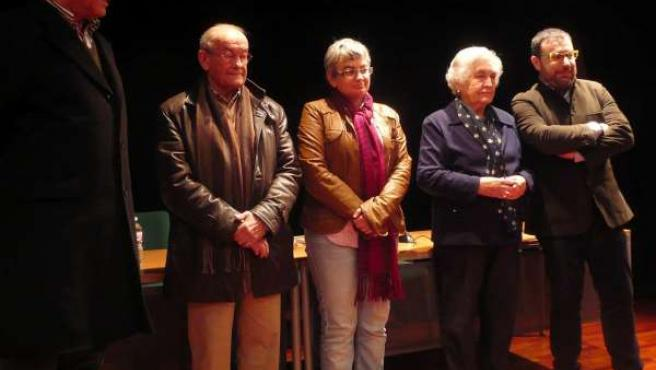 Por la izquierda, José Marcelino García, Artemio García y González.