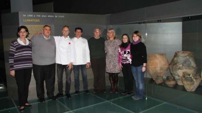 Presentación de los maridajes de cultura y gastronomía en el Museu de Lleida