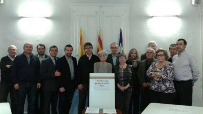 El Pacto Nacional por el Derecho a Decidir de Reus encabezado por Àngels Ollé