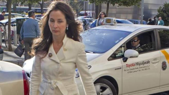 La jueza del caso de los ERE fraudulentos de la Junta de Andalucía, Mercedes Alaya.