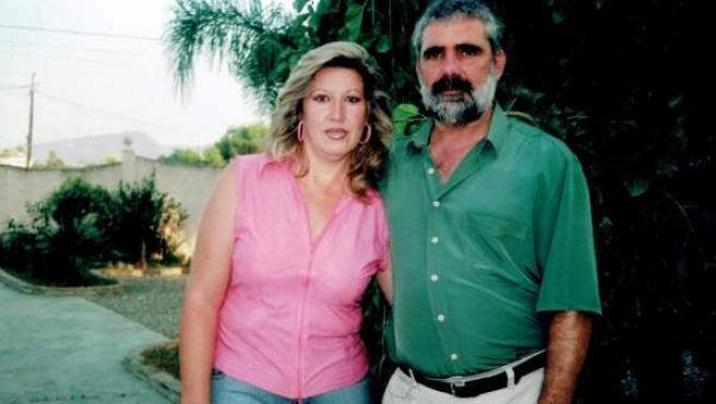 La víctima, Lucía Garrido, y su entonces pareja Manuel Alonso, imputado por su asesinato.