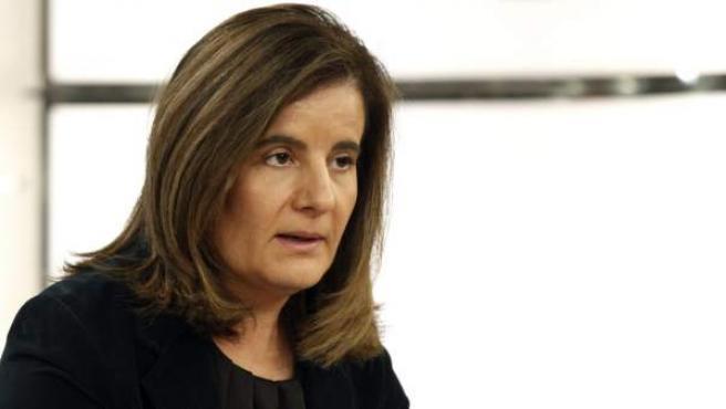 La ministra de Empleo, Fátima Bánez