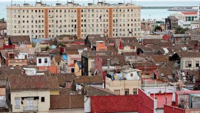 Imagen del barrio del Cabanyal.