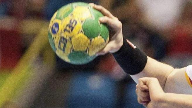Balón de balonmano.