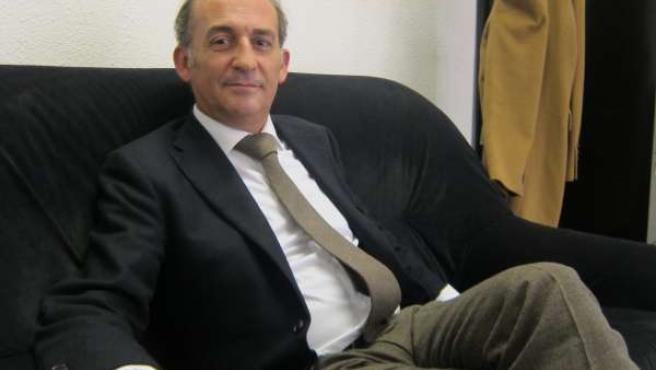 El rector de la Universidad Loyola Andalucía, Gabriel Pérez Alcalá