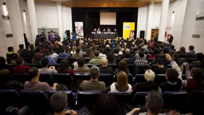 Asistencia a un evento de 'Almería en Corto'