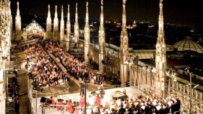 El Palau De La Música Acoge El Espectáculo Navideño 'América Canta'