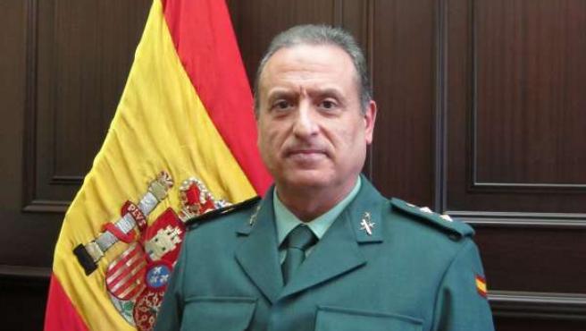 El teniente coronel de la Guardia Civil, Francisco Fuentes