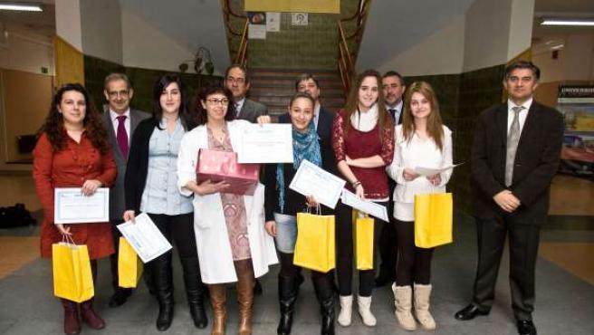 Alumnos premiados en el X Concurso Escolar de Prevención de Riesgos