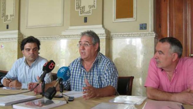 Juan Antonio Triviño y José Cosín
