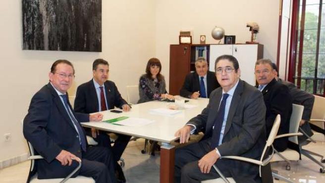 Reunión en el Colegio de Abogados de Sevilla