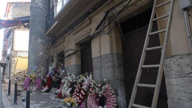 Derrumbe de un edificio