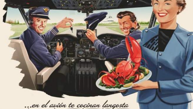 Cartel de la campaña 2011 del Ministerio de Sanidad para prevenir el consumo y tráfico de drogas en los viajes al extranjero.