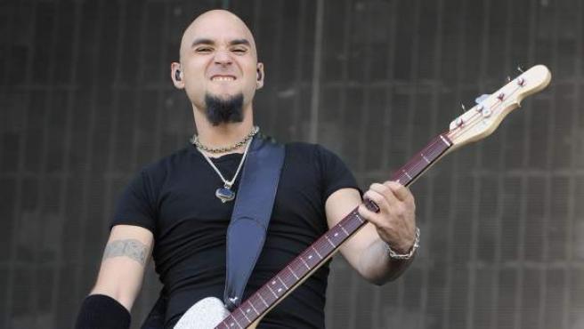 El cantante Carlos Escobedo, del grupo Sôber.