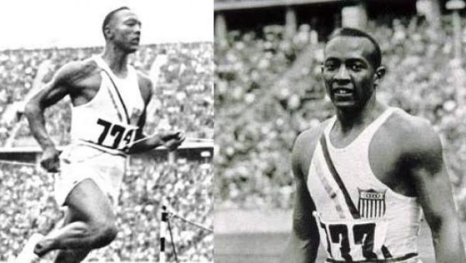 Jesse Owens, en Berlin 1936.