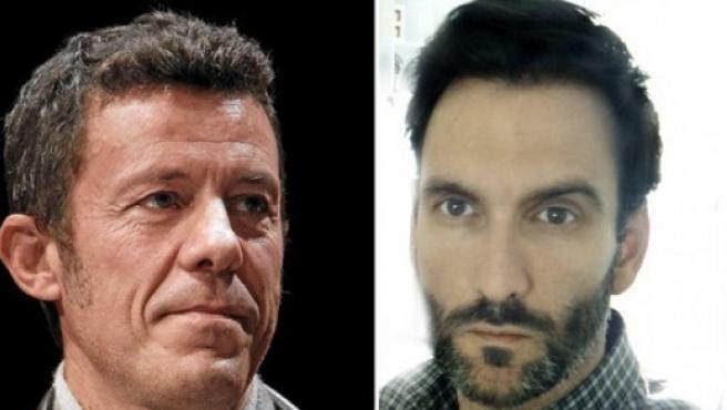 El periodista del diario 'El Mundo', Javier Espinosa, y el fotógrafo 'freelance' Ricardo García Vilanova, los dos periodistas que fueron secuestrados en Siria el 16 de septiembre.