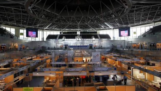 Panorámica del Madrid Arena un día antes de su reapertura en 2013 tras las muertes del 1 de noviembre de 2012.