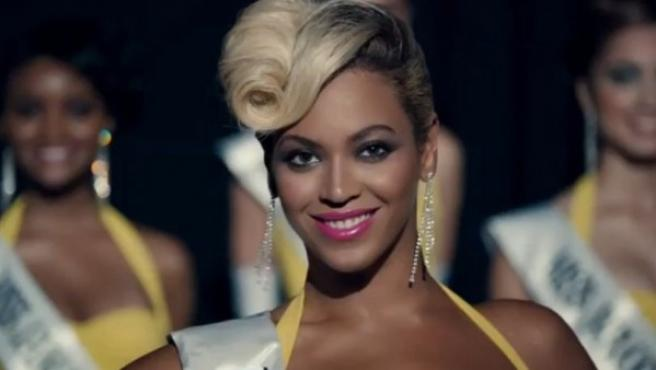 Beyoncé en uno de sus nuevos vídeos.