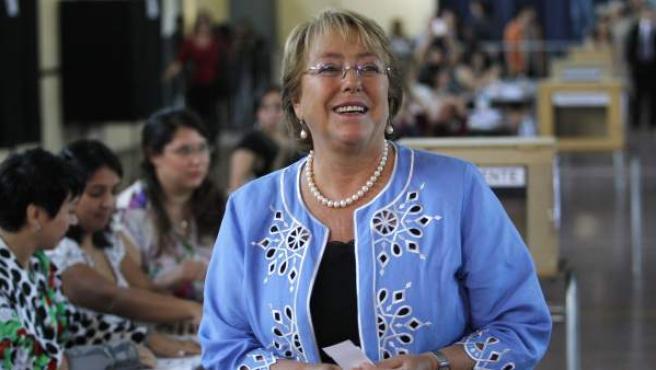 La presidenta chilena, Michelle Bachelet.