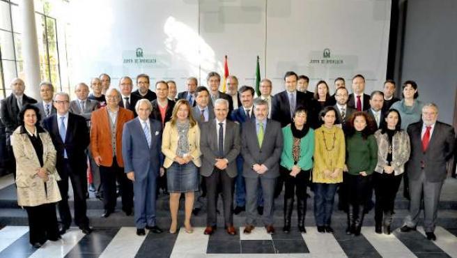 Jiménez Barrios preside la creación de la Mesa del Sector Audiovisual andaluz