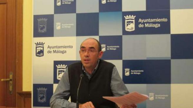 Eduardo Zorrida (IU) en el Ayuntamiento