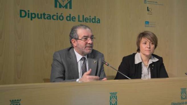La Diputación de Lleida presenta los presupuestos de 2014