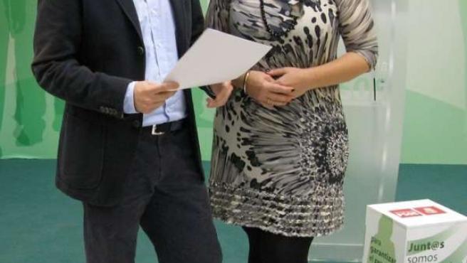 Bernal y Serrano, en rueda de prensa.