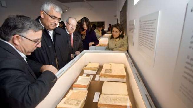 Inaugurada la exposición 'Fondos y Procedencias'