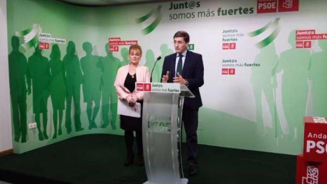 El secretario provincial del PSOE, José Luis Sánchez Teruel