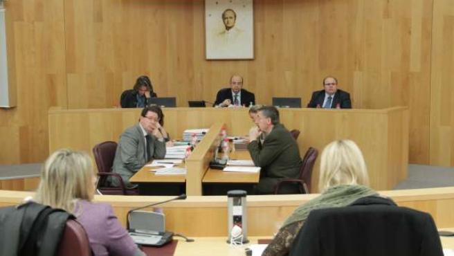 Pleno en la Diputación de Granada
