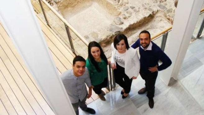 Alumnos del proyecto 'Heridas del Patrimonio'