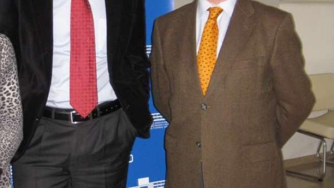 Rusconi y Díaz en la sede de CECO