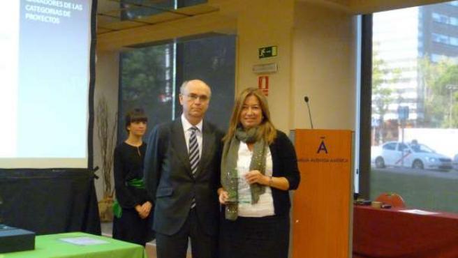 La Agencia Andaluza de la Energía recoge su premio en los I Premios EnerTIC