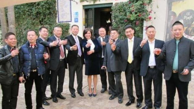 Delegación de empresarios chinos en Málaga
