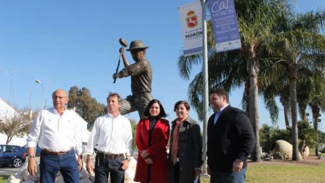Inauguración del monumento al calero