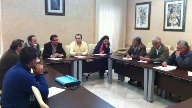 Reunión del PP en Almonte.