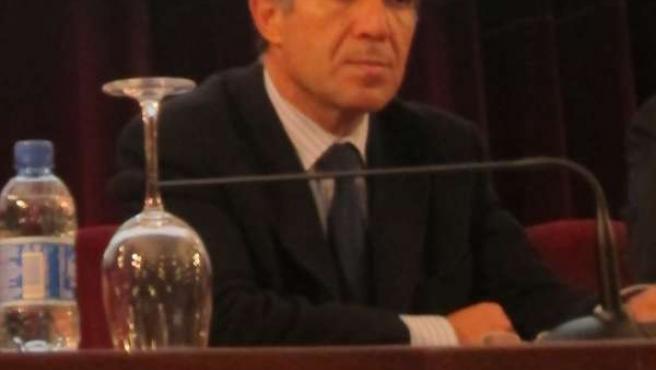 Lorenzo del Río, hoy en la inauguración de las jornadas