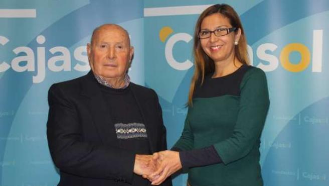 La delegada de la Fundación Cajasol en Huelva, Madilde Valdivia.