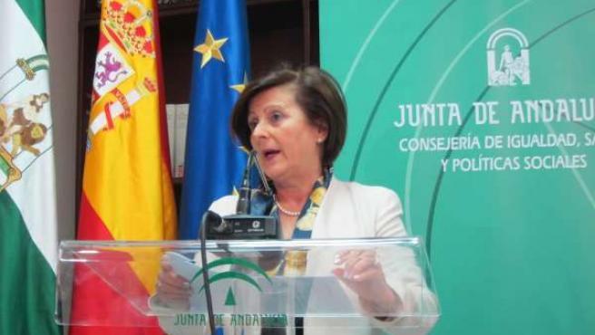 La consejera María José Sánchez Rubio informa sobre lo ocurrido en Alcalá