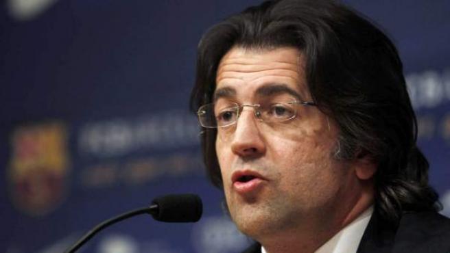Toni Freixa, portavoz de la Junta directiva del FC Barcelona.