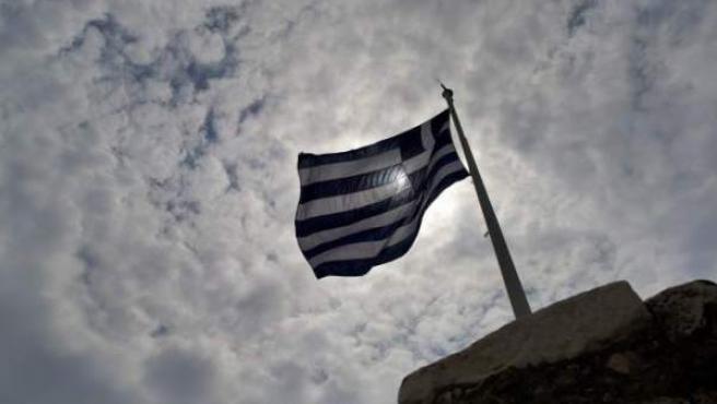 Una bandera griega, en una imagen de archivo.