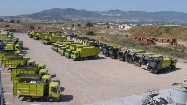 Camiones de Limasa en Los Ruices