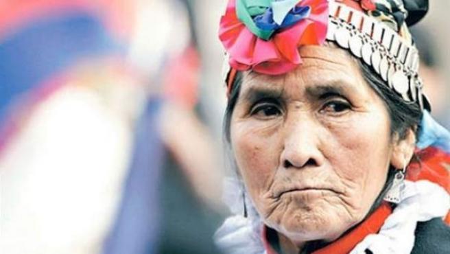 Nicolasa Quintremán era en un símbolo de la resistencia popular contra la gran hidroeléctrica de Chile.