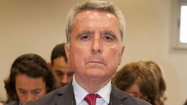 José Ortega Cano en los juzgados de Sevilla.