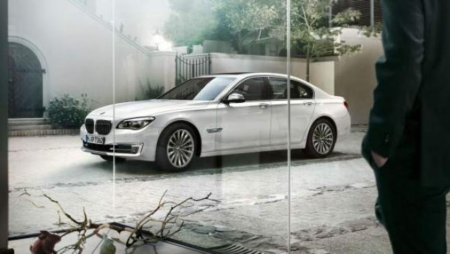 BMW Serie 7, el modelo que Caja Madrid adquirió para los desplazamientos de Blesa.