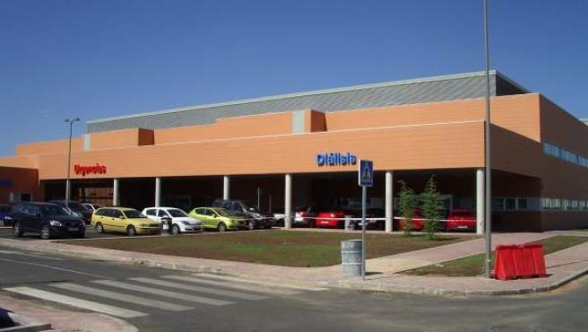 Instalaciones de Urgencias y Diálisis del Hospital de Torrejón de Ardoz (Madrid).